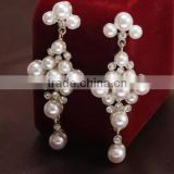 Pearl earring boho jewelry wholesale fashion jewelry