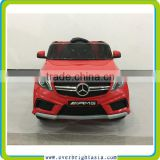 New Mercedes Benz A45 AMG license 12V battery 4 wheel electric cars for children
