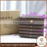 made in china art minds display wood jewelry box