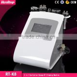 Fat Reduction Realtop 5 In1 Ultrasonic Cavitation Slimming Machine Vacuum Bipolar RF Weight Loss Fat Burning Spa Beauty Salon Equipment Bipolar Rf Ultrasonic Liposuction Cavitation