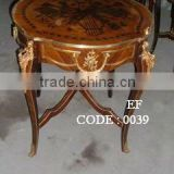 Table antique reproductions furniture side table coffee table dining table entrance table telephone table bar tables