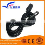 12V 15A Car Cigarette Lighter Extension Cord Cable with Switch