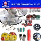 Various Diamond Tools For Cutting Stone Quarry Block Masonry