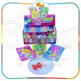 Foot Hand Shape Lollipop with Popping Candy