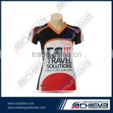 Polyester coolmax promotions garment sports rugby wear