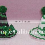 promotion st.patrick's day shamrock top hat/cap