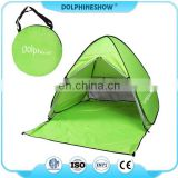 Lightweight Portable Automatic Instant Pop Up Beach Shade Sun Shelter Beach cabana Tent For 2-3 person Green Color
