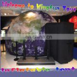 Printing cover inflatable planetarium dome tent for education