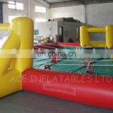 Portable inflatable football pitch, football field, inflatable soccer pitch