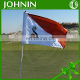 fast directly factory sale promotional customize nylon golf hole flag