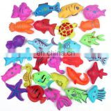 Kid Fishing Game 24 Magnetic Fishes Multicolor Fish