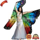 Best Dance Belly dance butterfly wings party dress up Handmade colorful wings