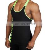 Stringer / gym Singlet - Custom T & Y Back Bodybuilding Singlet / Stri...
