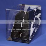 Guangdong Supplier Wholesale Cheap Price OEM ODM Factory Custom Clear Acrylic Shoe Stand Display