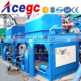 Knelson gold washing and processing centrifugal concentrator machine