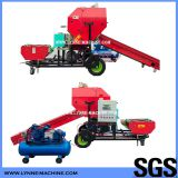 Automatic Electric or Diesel Dairy Farm Silage Feed Bailing Machine