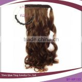 cheap wholesale natural crochet synthetic ponytail hair extensions