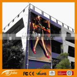 Aluminum wall banner display frame