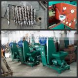 High efficiency screw type biomass briquette machine/coconut shell charcoal briquette machine