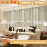 Professional Manufacturer Eco-Friendly Classic Stripe Style Style Top Quality Wall Mural Wallpaper