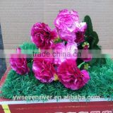 Special offer carnation simulation bouquet Plastic flowers, silk flower flower Festival dance dancing flower bouquet