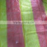 HDPE safety netting for balcony/plastic orange safety nets with UV protection