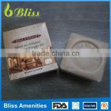N52 5 star high quality good smell small Hotel Soap 15 square hotel packaging sachet soap hotel products
