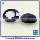 charming diamond jewelry decorative sapphire spinel, oval dark blue spinel