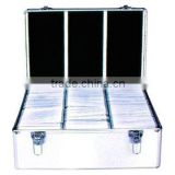 style&portable Aluminum 500PCS CD Player Flight Case box