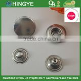 Sedex Audited 2 Pillar Factory Stainless Steel Metal Pree studs Snap button                                                                         Quality Choice