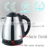 Hot sale low price efficient kitchen appliances stainless steel electric kettle water electric