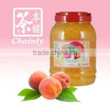 Taiwan Bubble Tea Materials Supply Peach Fruit Flavor Coconut Jelly