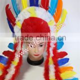 Wedding Decoration And Party Suppliesl Turkey Feather Headdress Carniva