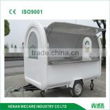 WK280 factory price outdoor mobile fast food van/food car/food trailer/food cart/food kiosk