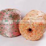 70%Polyester 30%Cotton Colors Sausage fancy knitting yarn 3.3s