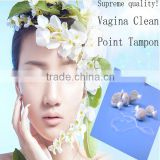 Feminine Hygiene Vagina Clean Point Herb Tampon for best selling products