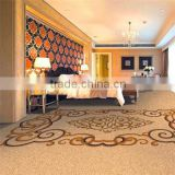 Custom Luxury Axminster Luxury Wool Carpet for Hotel Room, Guest room 006