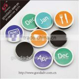 round metal fridge magnet/refrigerator magnets/magnetic pins                                                                         Quality Choice