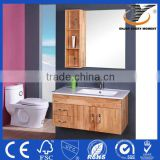 Modern Wooden Hanging Bathroom Vanity Cabinet Furniture Laundry Wash Tub With Cabinet