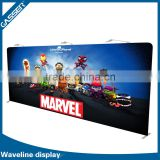 Recyclable aluminum pop up PVC flooring display stand                                                                         Quality Choice