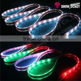 Full color LED rigid light strip 24v smd 2835 dmx outdoor waterproof led rigid led strip (6w ip66)