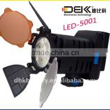 LED Video Light for Sony, with 6.0 to 9.0V Working Voltage and Cold Light Source Type