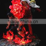 Wholesale 1/6 Scale LED Lighting Cartoon Figure One Piece ACE Japanese Anime Figure Custom Toy Factory