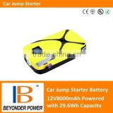 High discharge rate 12V car jump start battery, backup battery ,power station with LED lights