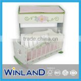 Baby Furniture Rocking Bed Doll Cradle