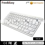 Ultra-Slim 78 keys Mini Wireless Bluetooth Keyboard