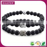 Fashion Trends Summer 2016 Buddha Charm Black Tourmaline Bracelet