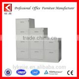 colorful high gloss steel file cabinet with 2 to 4 drawers newly-designed steel locker cabinet for military