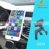 2016 hot sales magnetic air vent car holder with 360 rotation cell phone holder for more smartphone
