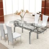 L808A Extendable Table Dining Room Set Chinese Furniture                                                                         Quality Choice